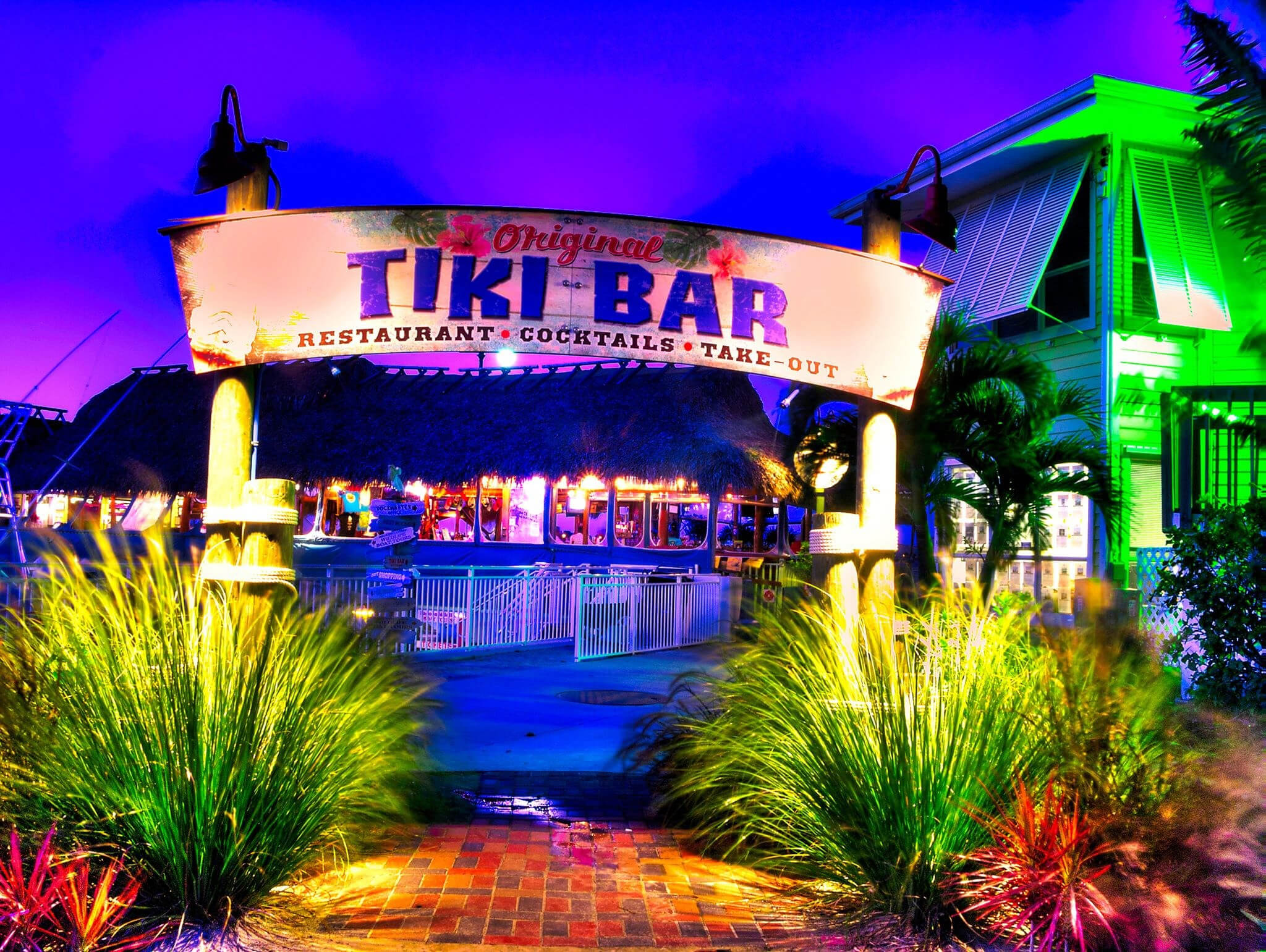 Restaurant Tiki Huts & Bars Florida