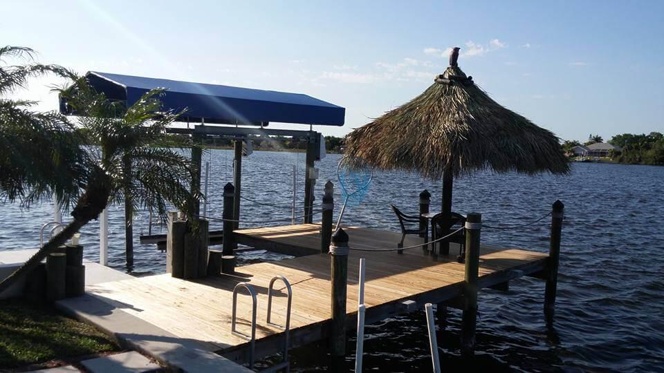 Umbrella Style Tiki Huts