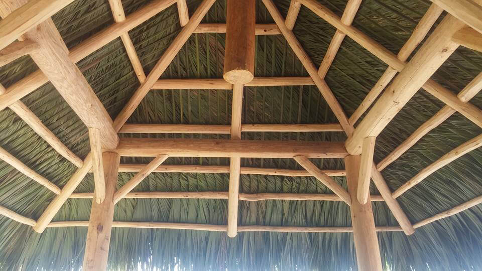 The Very Best Palm Thatch Tiki Hut Roofs