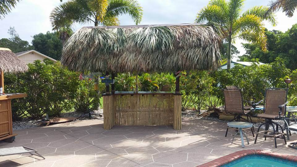 Tiki Huts and Tiki Bars Brevard County Florida