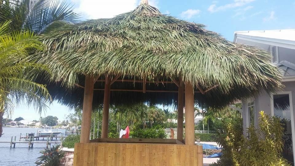 Tiki Huts and Tiki Bars Manatee County Florida