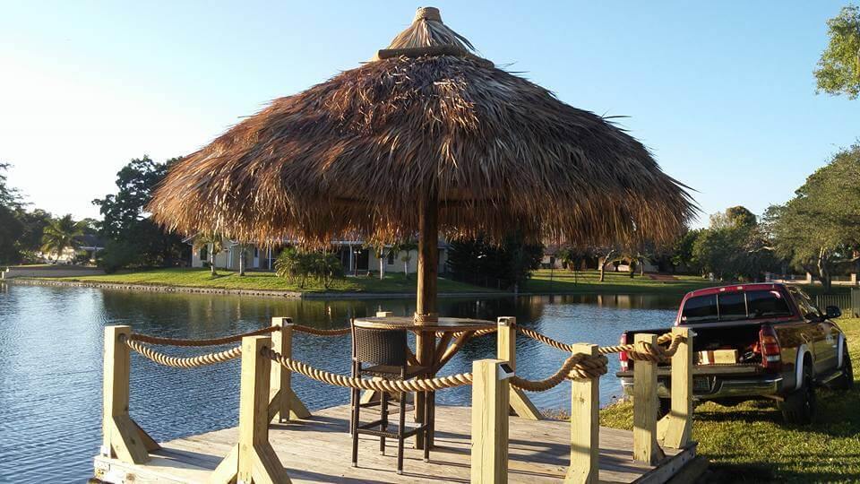Tiki Huts and Tiki Bars Port Salerno Florida
