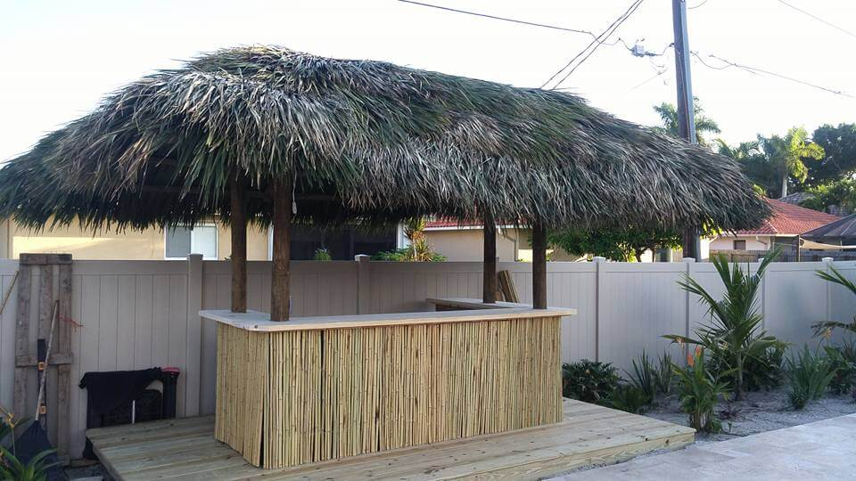Tiki Hut Aug-9