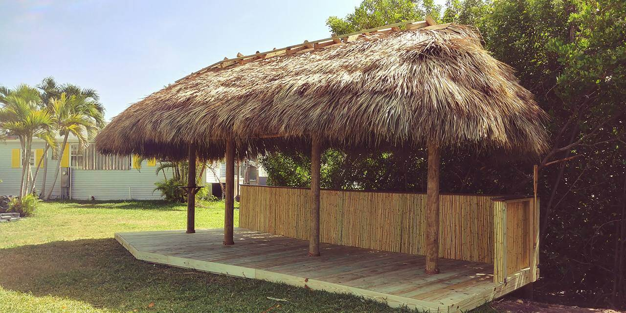 Florida Tiki Huts Building Tiki Huts Throughout Florida